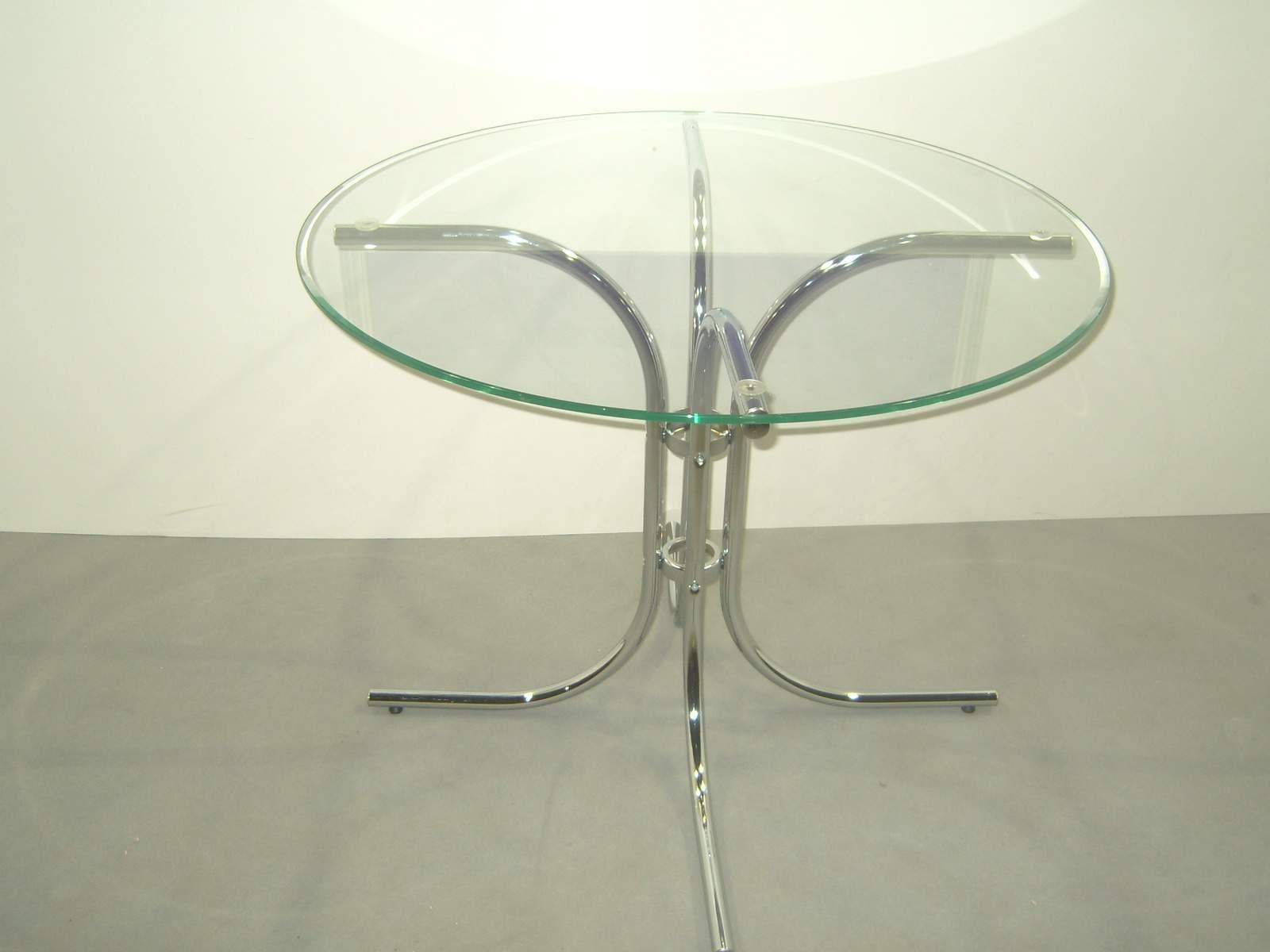 Стол скляний